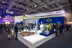 Der Stand von Airbus-Gruppe Stockfotos