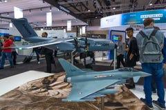 Der Stand von Airbus-Gruppe Lizenzfreies Stockbild