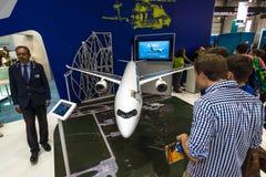 Der Stand von Airbus-Gruppe Stockbilder