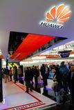 Der Stand von Huawei Lizenzfreie Stockfotos