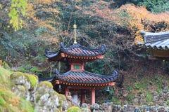 der Standort eines ji Otagi Nenbutsu Tempels Lizenzfreie Stockfotografie