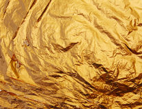 Der Stapel der Goldblätter Lizenzfreie Stockbilder