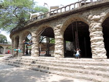 Der Steingarten von Chandigarh, Indien Stockbilder