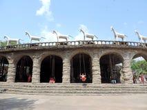 Der Steingarten von Chandigarh, Indien Lizenzfreie Stockbilder