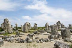 Der Steinwald - Pobiti Kamani und Dikilitash, Bulgarien lizenzfreie stockfotografie