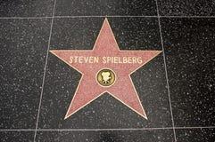 Der Stern von Steven Spielberg Lizenzfreies Stockfoto
