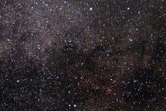 Der Sternhimmel eine Hintergrundbeschaffenheit, Galaxien im nächtlichen Himmel Grafikbild des Sternhimmels lizenzfreie abbildung