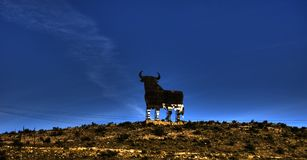 Der Stier Stockbild