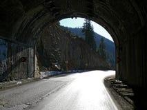 Der Straßentunnel. Stockbilder