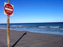 Der Strand Stockfoto