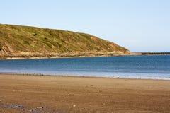 Der Strand bei Filey Stockbild