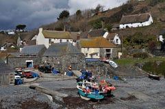 Cadgwith Bucht Cornwall Lizenzfreie Stockbilder