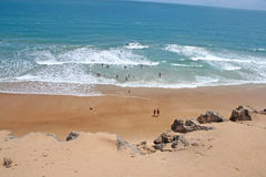 Der Strand des pipas Lizenzfreies Stockbild