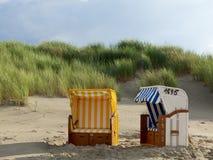 Der Strand von Juist Lizenzfreie Stockfotos