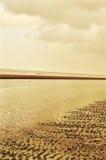 Der Strand in Wijk aan Zee, Holland Lizenzfreie Stockfotografie