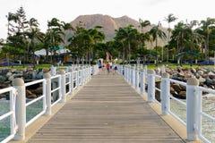 Der Strang Townsville Stockfotografie