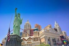 Der Streifen in Las Vegas Stockbilder