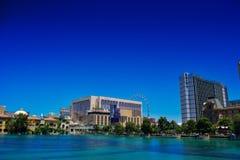 Der Streifen in Las Vegas am Sommertag, Las Vegas Lizenzfreie Stockfotos