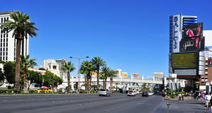 Der Streifen in Las Vegas, Vereinigte Staaten Lizenzfreie Stockfotografie
