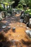 Der Strom fließen Wald oder natürlichen Park im Freien durch lizenzfreies stockfoto