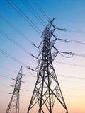 Der Strommast Stockbilder