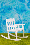 Der Stuhl des weißes Kindes Stockbilder