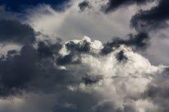 Der Sturm kommt Stockfotografie