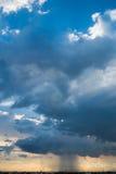 Der Sturmhimmel stockbild