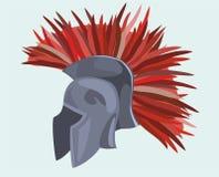 Der Sturzhelm des Ritters vektor abbildung