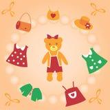 Der sweetie-Teddybär. Stockbilder