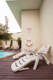 Der Swimmingpool Stockbild