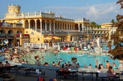 Der Szechenyi Badekurort in Budapest