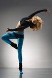 Der Tänzer stockfoto