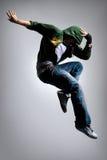 Der Tänzer Stockbilder