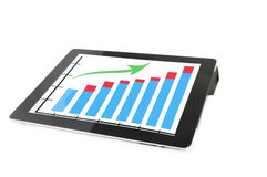 Der Tablettecomputer lizenzfreie stockfotografie