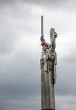 Der Tag der Erinnerung und der Versöhnung in Kiew Stockfotos