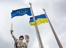 Der Tag der Erinnerung und der Versöhnung in Kiew Lizenzfreies Stockfoto