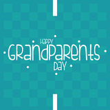 Der Tag der Großeltern Stockfotografie