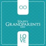 Der Tag der Großeltern Lizenzfreies Stockbild