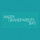 Der Tag der Großeltern Stockbilder