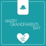 Der Tag der Großeltern Stockfotos