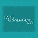 Der Tag der Großeltern Stockfoto