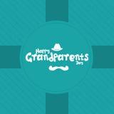 Der Tag der Großeltern Stockbild