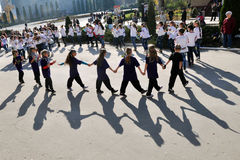 Der Tag der internationale Kinder Stockfoto