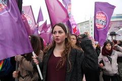 Der Tag der internationalen Frauen Lizenzfreies Stockbild