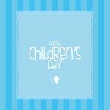 Der Tag der Kinder Lizenzfreie Stockfotos