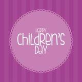 Der Tag der Kinder Stockfotografie