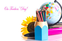 Der Tag des Lehrers! Lizenzfreie Stockfotos
