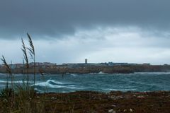 Der Tag nach dem Sturm stockfotos
