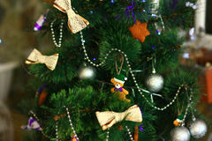 Der tannenbaum des neuen Jahres und Weihnachts Lizenzfreie Stockbilder